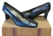 Other Size 6.00 M Very Good Condition Black Leather Pumps