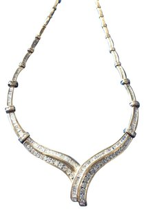 Other VINTAGE 5.35ct DIAMOND NECKLACE WITH 14K YELLOW GOLD