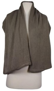 Vivi Designe Womens One Solid Taupe Scarf 100 Acrylic
