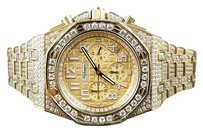 Other Mens Jojino By Joe Rodeo Simulated Diamond Watch Gold Mj-8029 - Limited Qty