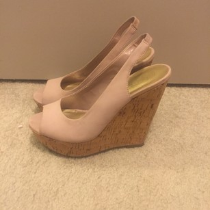 Jessica Simpson Pink Wedges