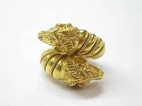 Other Zolotas 22kt Rams Head Jewelry Ring Yellow Gold