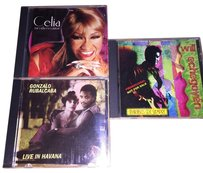 Other Latin Artists CD 3- CD Set; Celia, Gonzo Rubalcaba & Will Echegoye'n [ SisterSoul Closet ]