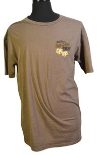 Pair-a-dice Dice Shirt T-shirt Top Brown