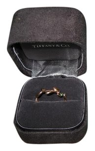 Paloma Picasso Paloma Picasso for Tiffany and Co. Olive Leaf 18K Rose Gold Ring