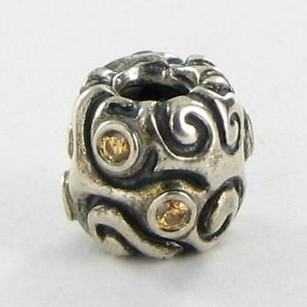 PANDORA Pandora 790548czm Charm Bead Daydream Honey Cubic Zirconia 925 Retired