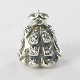 PANDORA Pandora 791239cz Charm Bead Christmas Tree Of Lights Cubic Zirconia 925