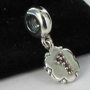 PANDORA Pandora Bead 790550ga1 Special Numbers 1 Dangle Charm Discontinued