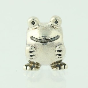 PANDORA Pandora Bead Charm - Sterling Silver 790247 Froggie Retired Ale 925