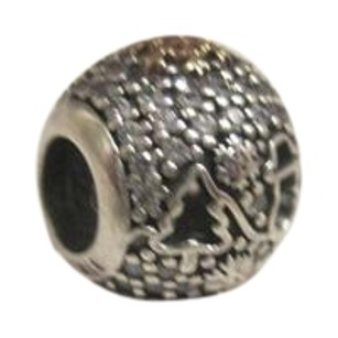 PANDORA Pandora Black Friday Wonderland Charm 794200 2016 Limited ed w/ 14k