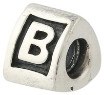 PANDORA Pandora Bead Charm - Sterling Silver 790323b Alpha B Letter Retired Initial