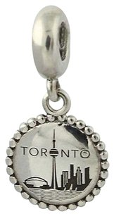 PANDORA Pandora Toronto Bead Charm - Sterling Silver Dangle Usb791169-g043