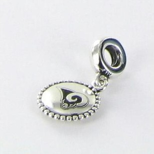 PANDORA Pandora Usb791169-g129 Bead Charm Nfl St Louis Rams Dangle 925
