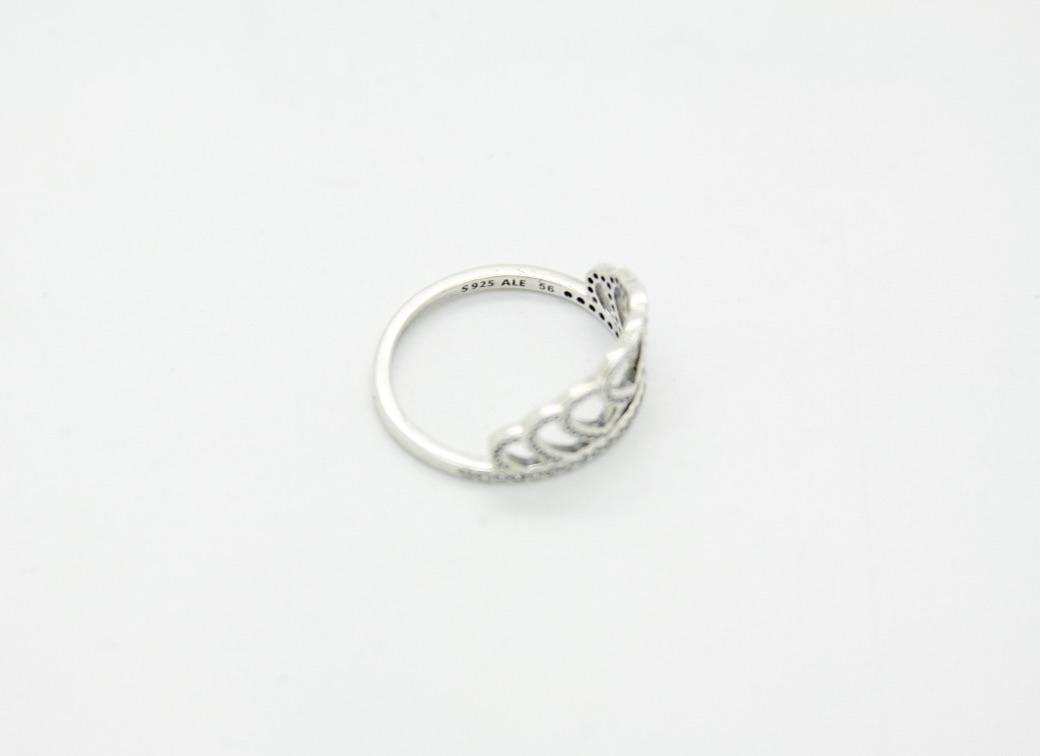 c4ac95eef ... where to buy pandora pandora s925 ale 56 hearts tiara crown stackable  ring clear cz.