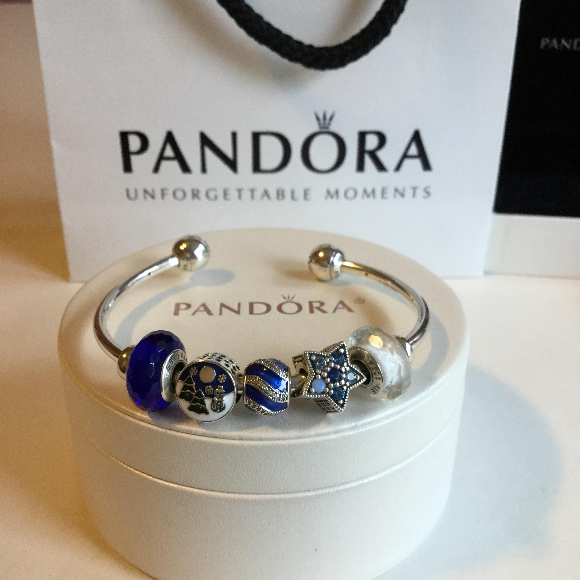 080e5ca2f ... new style pandora silver wonderland holiday charm set of 5 charm 3688b  e2c29