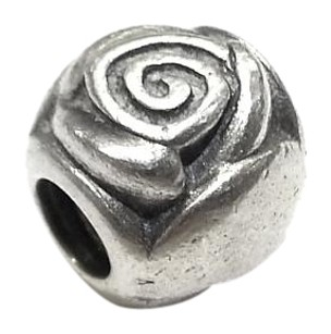 PANDORA Sterling Silver Rose Charm