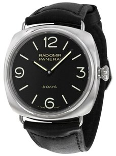 Panerai PANERAI Radiomir Black Dial Leather Men's Watch PAM00610