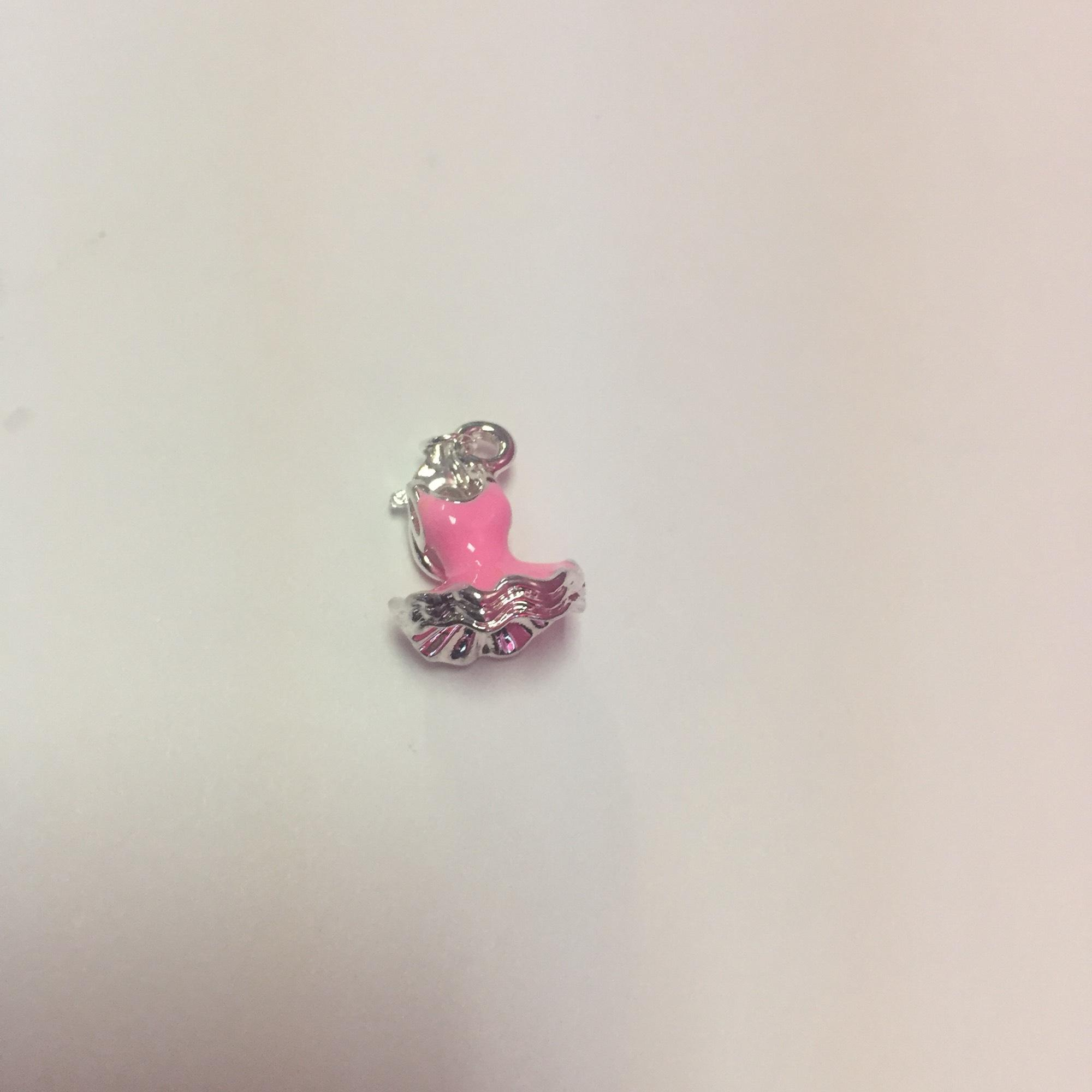 Party dress charm