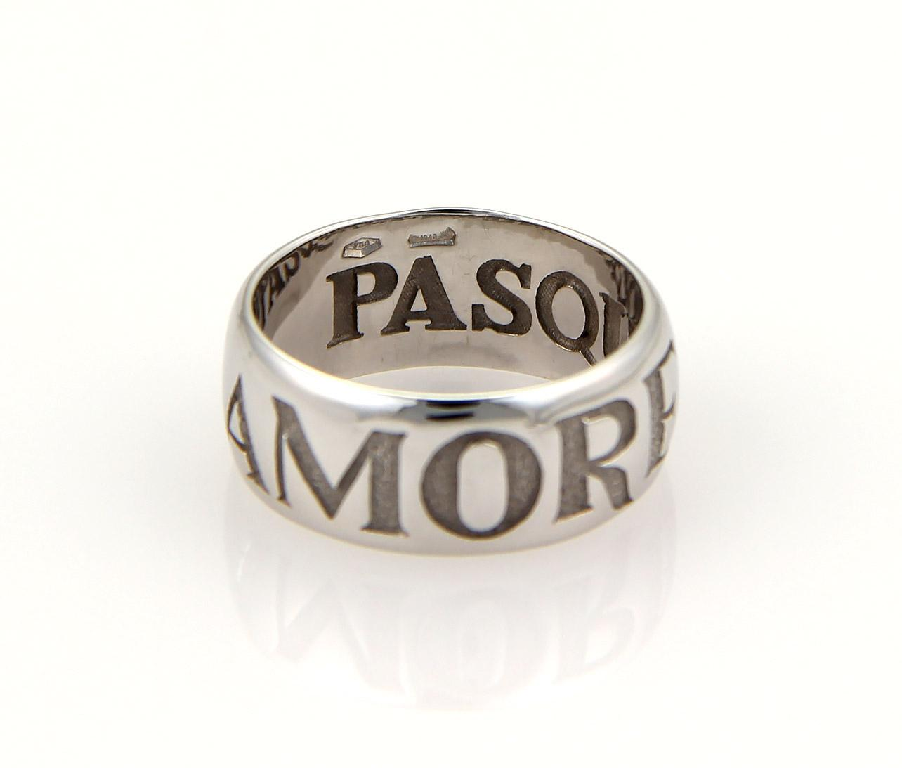 pasquale bruni 18k gold amore ring