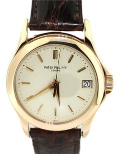 Patek Philippe Patek Philippe Calatrava 5127 R 18K Rose Gold Auto Swiss Dress Date Watch