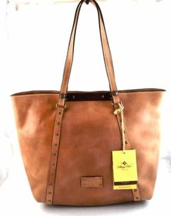 Patricia Nash Designs Italian Leather Tote in Brown
