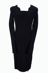 Patrizia Pepe Ba1481 Blue Wigglepencil Womens 40 It Dress