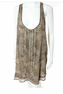 Patterson J. Kincaid Dress Sleeveless Top Multi-Color