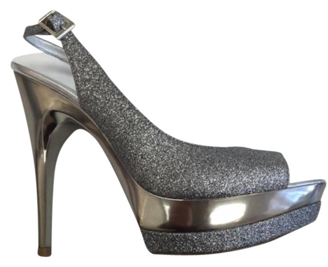 pelle moda Argent chaussures gleam chaussures Argent taille formelle cc8d99