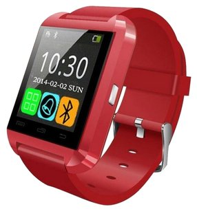 PEMOTech Smartwatch - PEMOTech(R) Luxury U8 Bluetooth Smart Watch WristWatch Phone with Camera Touch Screen for IOS Iphone Android Smartphone Samsung Smartphone - RED