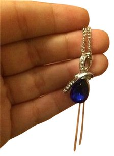 Other Sparking Waterdrop Rhinestoned Pendant Necklace For