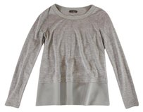 Peserico Tricot 38 Gray Top