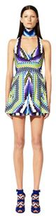Peter Pilotto Geometric Edgy Colorful Runway Celebrity Dress