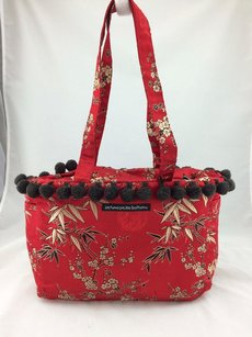 Petunia Pickle Bottom Tote in Red