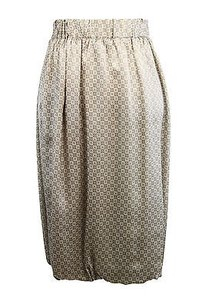 Philosophy di Alberta Ferretti Philo Geometric Womens Skirt brown