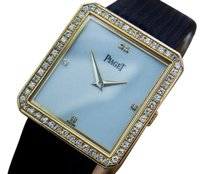 Piaget Piaget Protocole 18k Solid Gold Unisex Swiss Made Watch With Diamonds C1980 T6