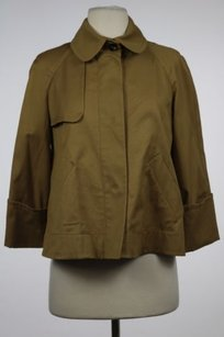 Piazza Sempione Womens Tan Jacket