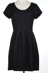 Pim + Larkin And Womens Textured Short Sleeve Above Knee Sheath Dress