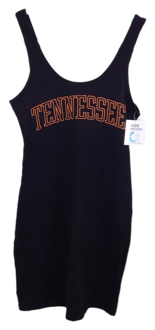 Preload https://item1.tradesy.com/images/pink-black-victoria-s-secret-university-of-tennessee-mid-length-short-casual-dress-size-4-s-2692780-0-0.jpg?width=400&height=650