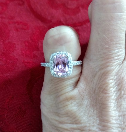 Other Luxury Shinning 2.75ctw Cz White Gold plated Ring