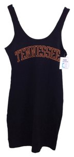 PINK short dress Black Victoria's Secret University Of Tennessee on Tradesy