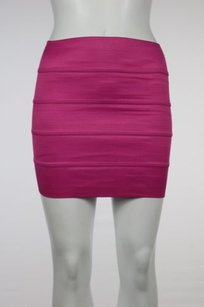 Pleasure Doing Business Skirt Pink