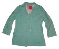 Plenty by Tracy Reese Linen Green Blazer