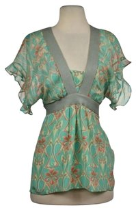 Plenty by Tracy Reese Womens Top Green