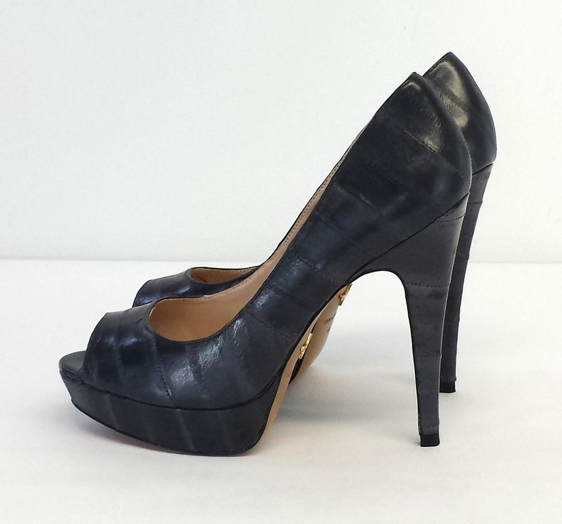for cheap cheap online outlet nicekicks Pour La Victoire Leather Platform Pumps buy cheap price how much for sale AcX56Iqv0
