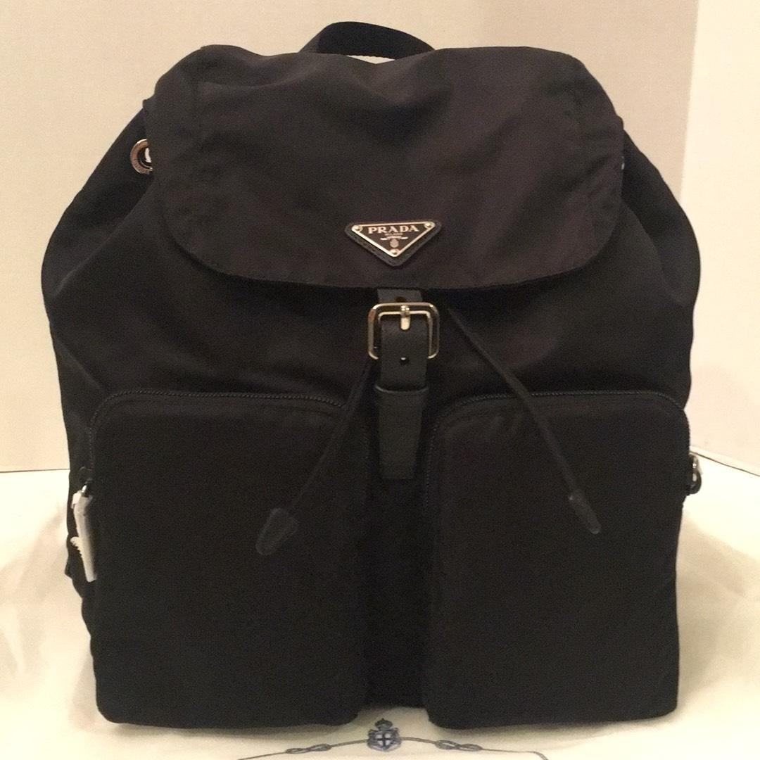 910375c9d69388 ... clearance prada backpack obsessed treat yourself at tradesy 19191 5d4a0