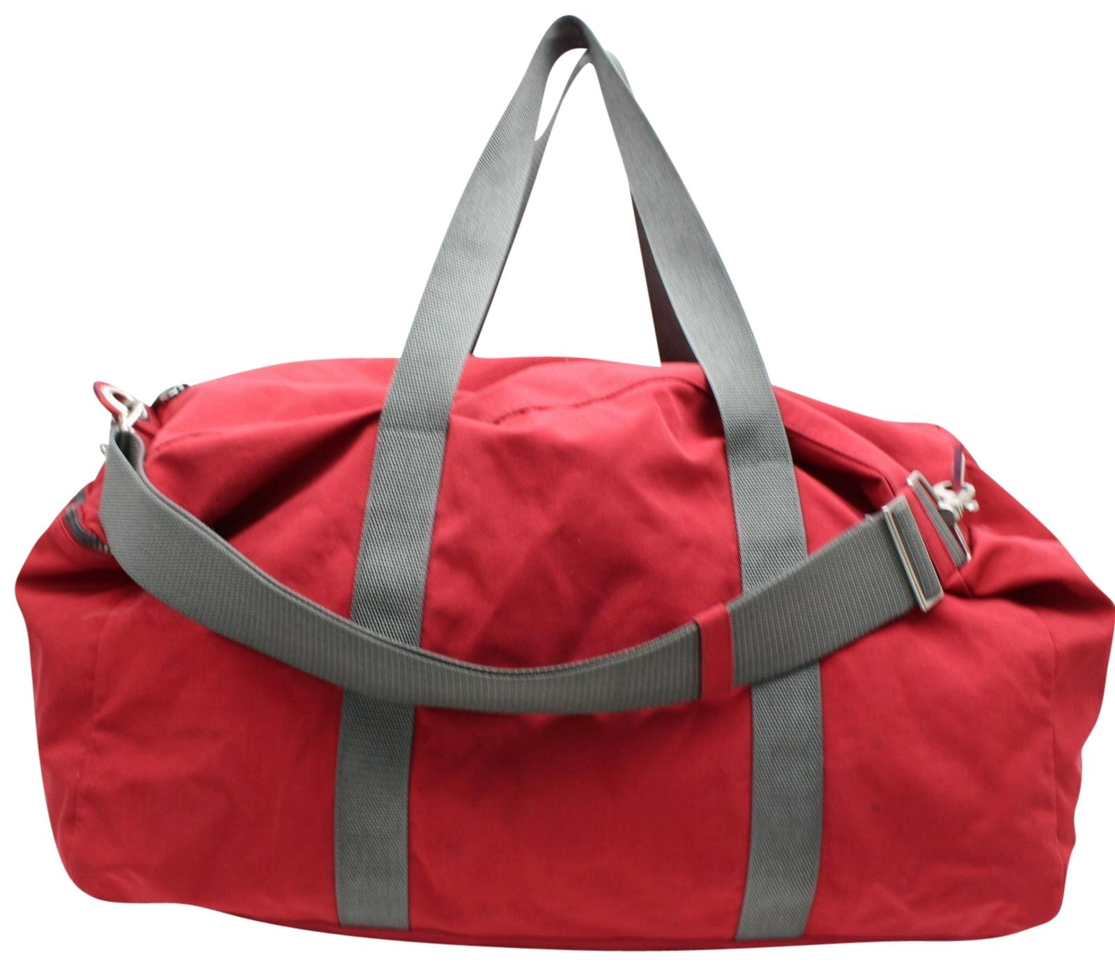 a549dcaf71d1 ... ebay prada duffle boston red travel bag edbbb 83ef8