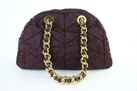 Prada Bowler Dome Chanel Chain Quilted Chanel Chain Shoulder Bag