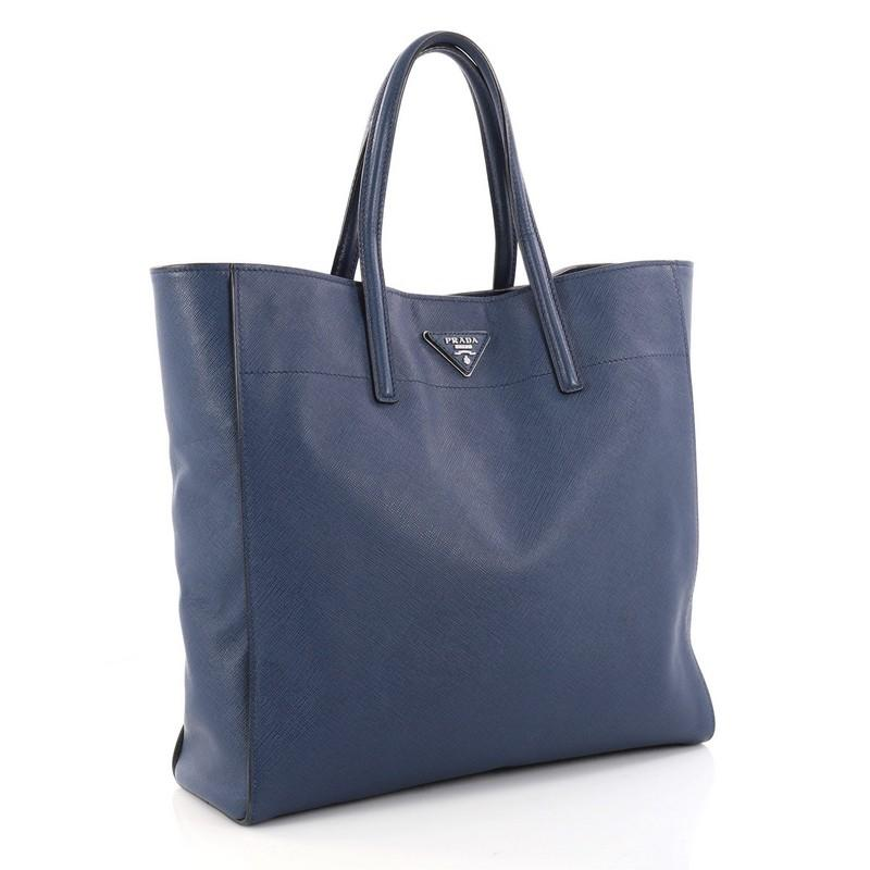 Prada Convertible Soft Shopping Tote Saffiano Leather Medium SD79U7VZSq