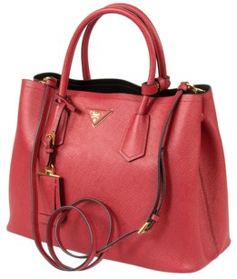 Prada Double Fuoco 1bg775 F068z Shoulder Bag