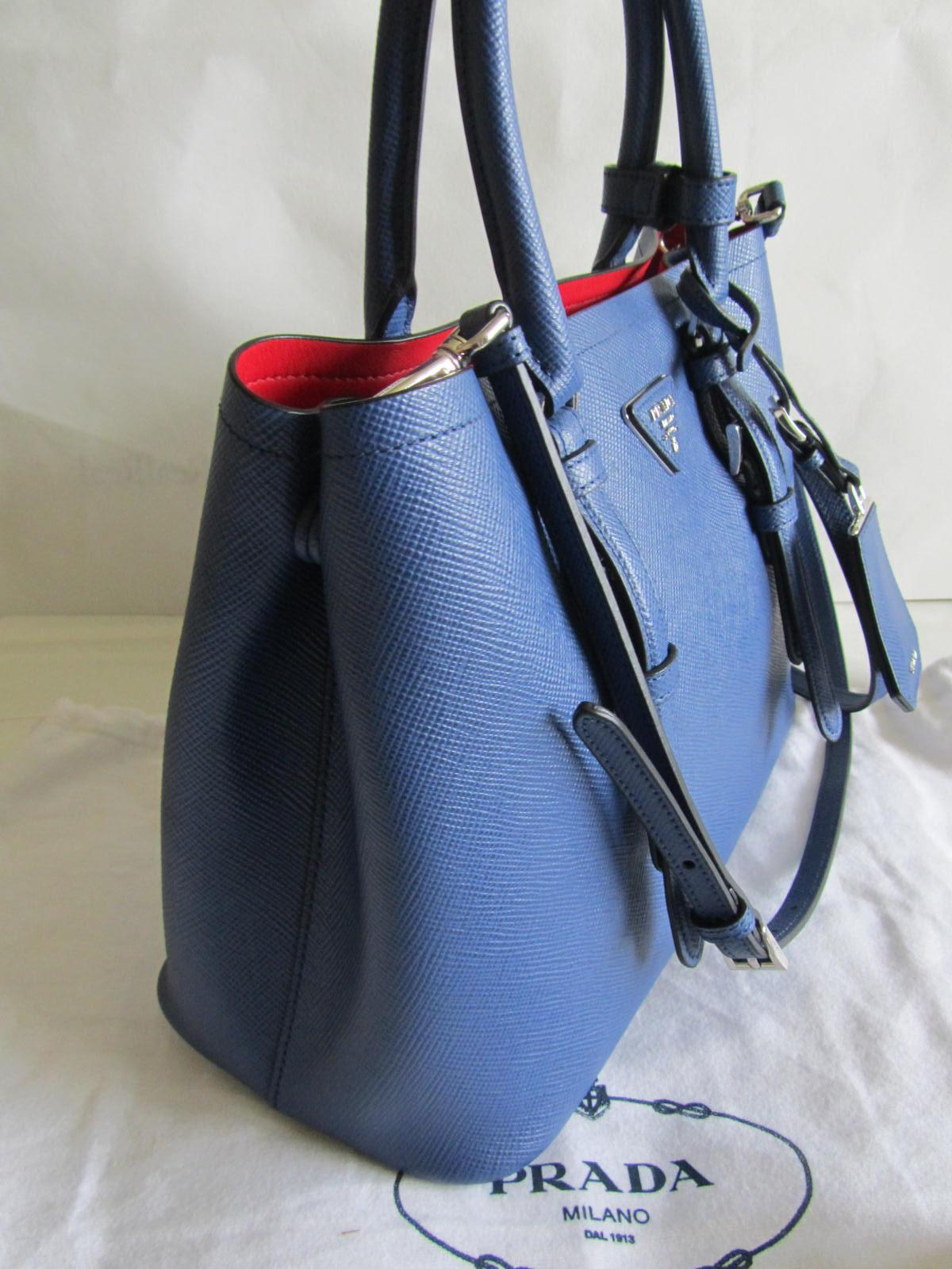 3d95af6a1d55 2390 0a672 a1684; spain prada saffiano cuir tote in navy blue.  1234567891011 bbfc4 639c1